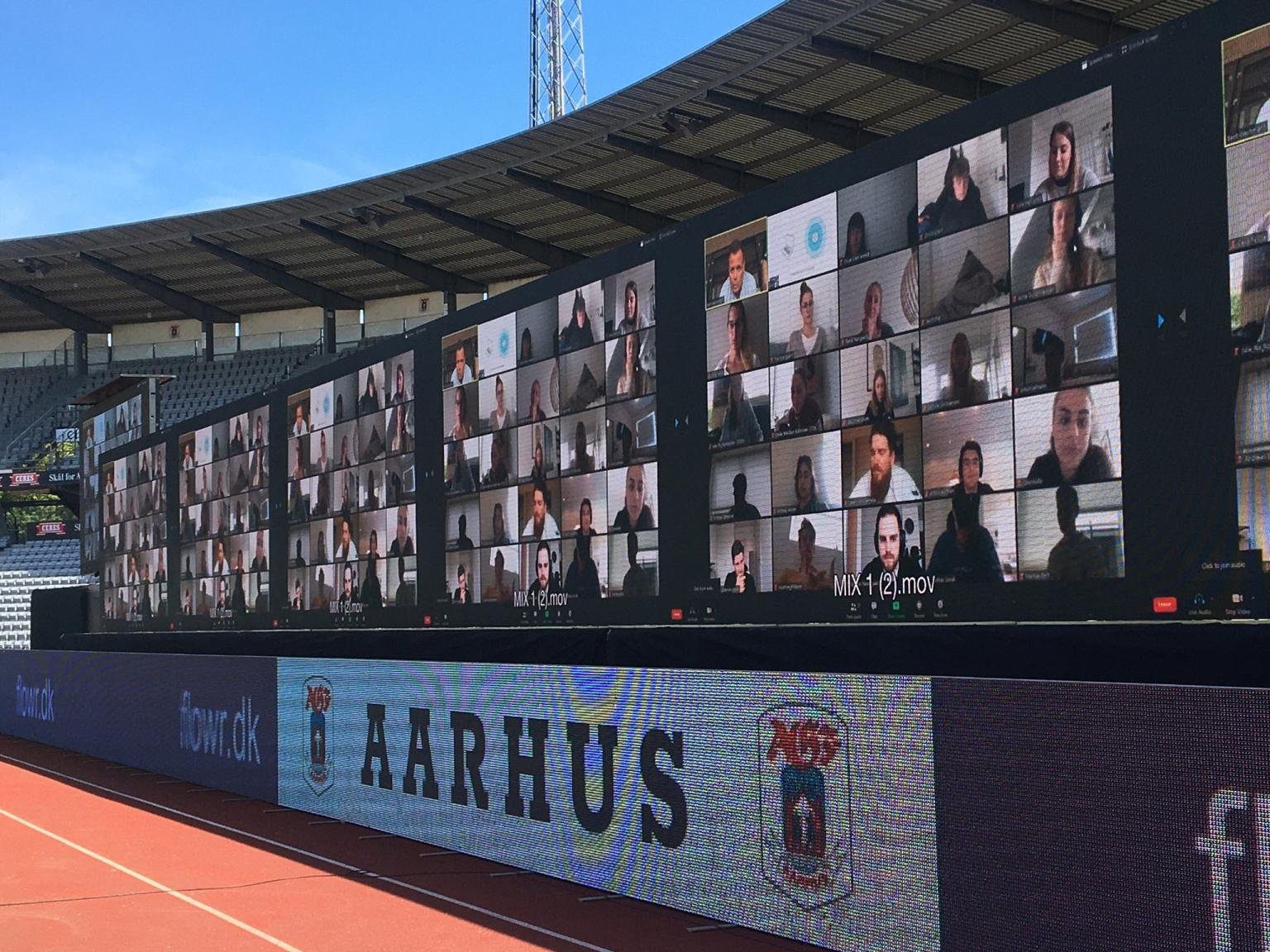 Aarhus GF delivers a virtual match experience to fans via Zoom